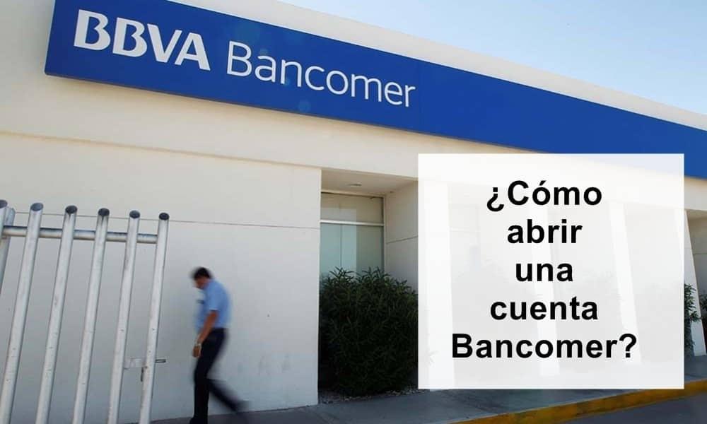 abre una cuenta bancomer