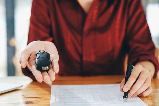contrato de venta de automóvil