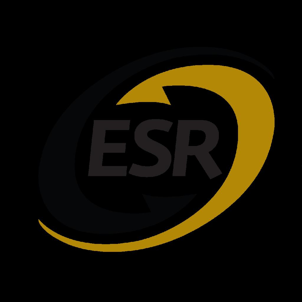 Logotipo de empresa socialmente responsable ESR