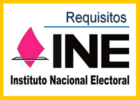 Requisitos para INE