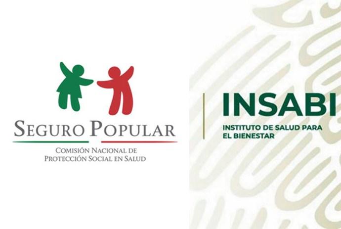 logotipos seguro popular e insabi