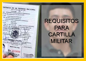 Requisitos para cartilla militar