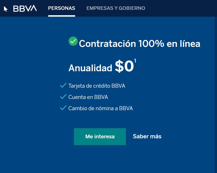TDC Bancomer en LÍNEA paso 5