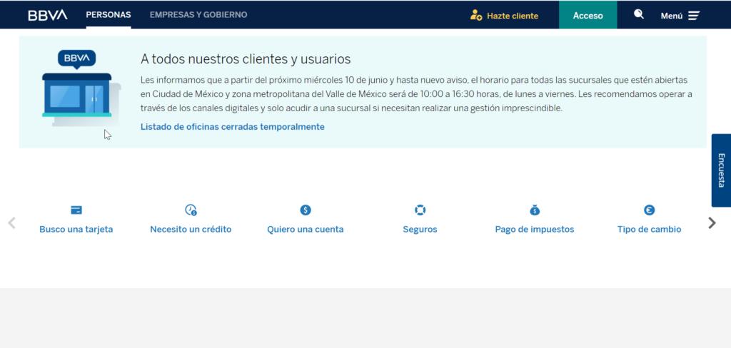 TDC Bancomer en LÍNEA paso 2