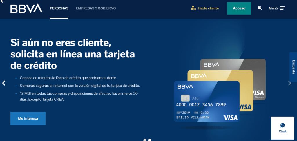 TDC Bancomer en LÍNEA paso 3